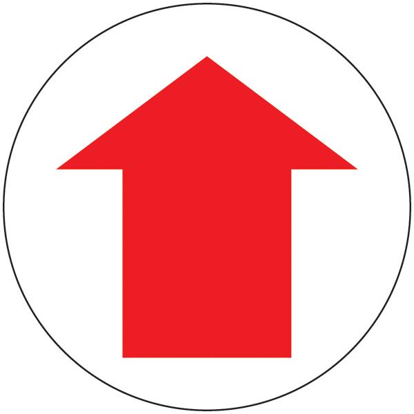 Graphic arrow transparent stock Direction Arrow Floor Graphic - 8 Inches | MS Carita transparent stock