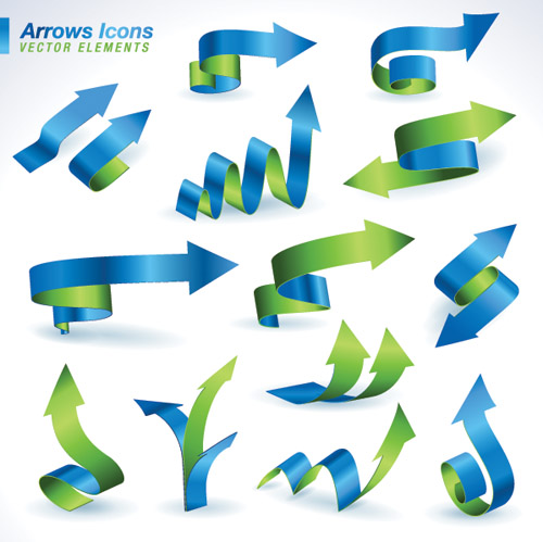 Graphic arrows vector freeuse download Arrows Icons 2 | Free Vector Graphic Download vector freeuse download