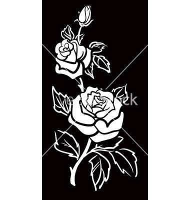 Graphic art flower jpg transparent download Rose Vector Images (over 47,800) - VectorStock jpg transparent download