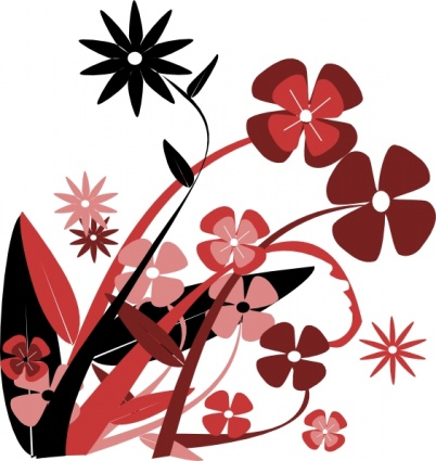 Graphic art flower png library library Spring Flowers Graphics | Free Download Clip Art | Free Clip Art ... png library library