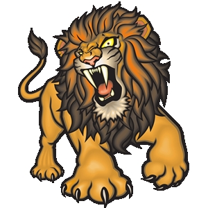Graphic clipart lion angry svg black and white stock Graphic clipart lion angry - ClipartFest svg black and white stock