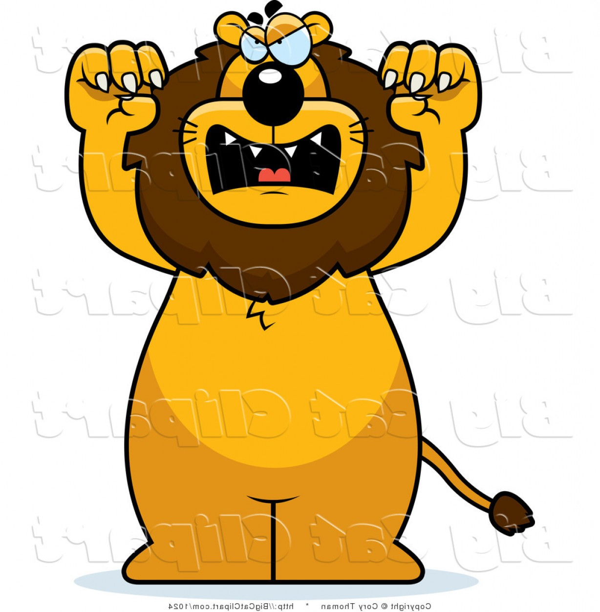 Graphic clipart lion angry clip free Top Angry Lion Vector Art Draw | Vectory clip free