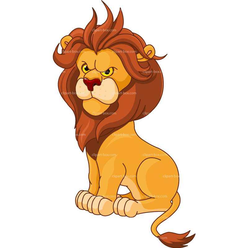 Graphic clipart lion angry royalty free download CLIPART ANGRY LION | Royalty free vector design royalty free download