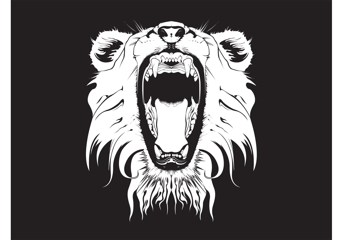 Graphic clipart lion angry picture royalty free download Lion Free Vector Art - (5293 Free Downloads) picture royalty free download