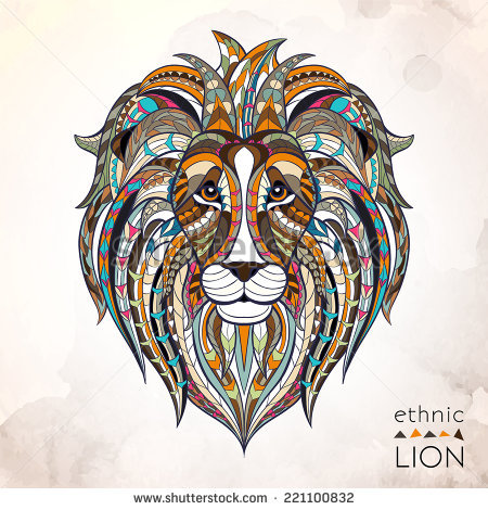 Graphic clipart lion angry freeuse Lion Tattoo Stock Images, Royalty-Free Images & Vectors | Shutterstock freeuse