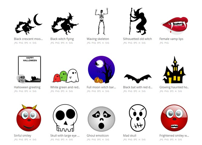 Graphic design and clipart image black and white stock The Best Websites for Free Clipart Downloads image black and white stock