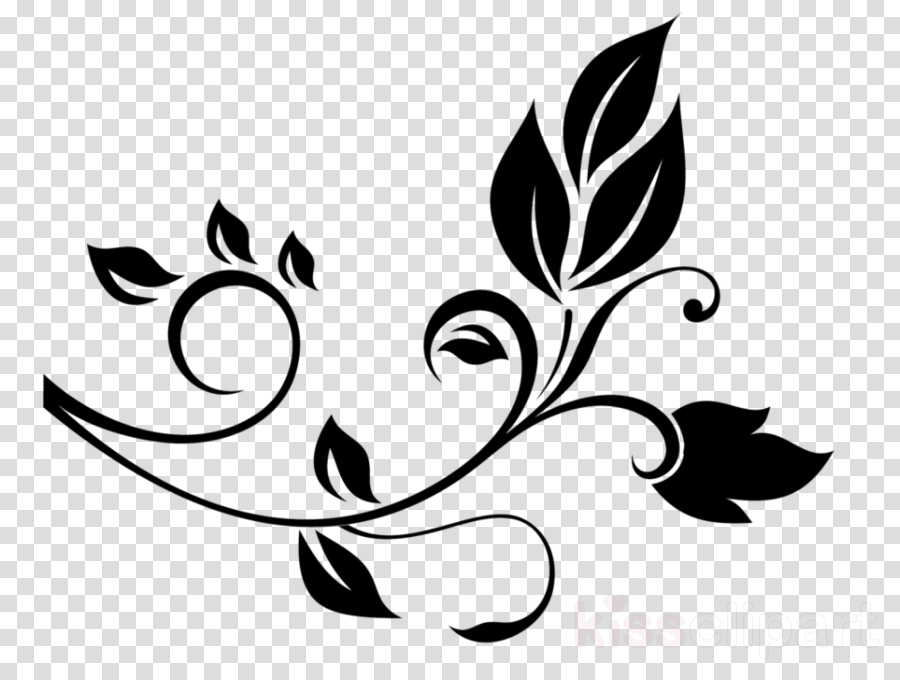 Graphic design clipart file graphic transparent library Black And White Flower clipart - Flower, Graphics, Design ... graphic transparent library