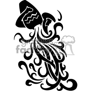 Graphic factory clip art clip black and white Free aquarius-label Clipart - Free Clipart Graphics, Images ... clip black and white