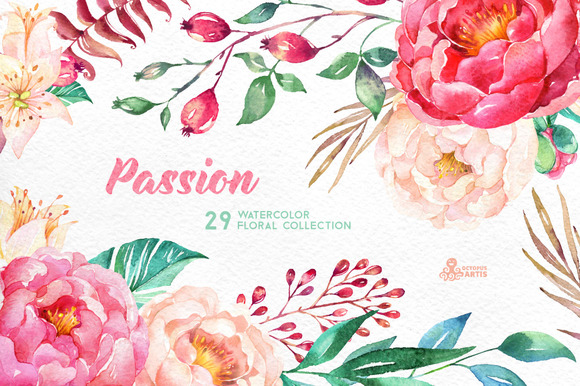 Graphic floral images clipart royalty free Passion. Flowers Collection | Creative, Clip art and Graphics clipart royalty free