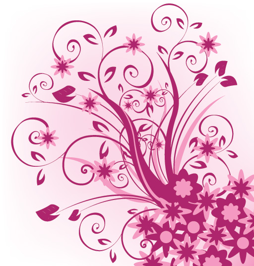Graphic floral images jpg transparent library Floral Violet Vector Graphic jpg transparent library