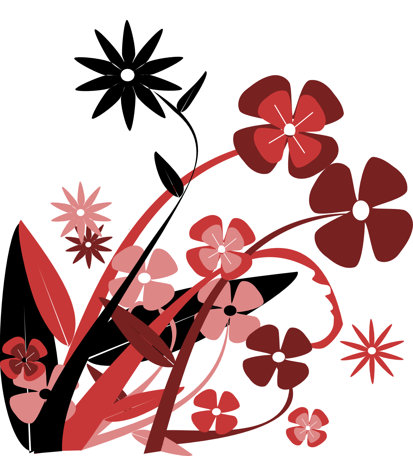 Graphic flower pictures image library stock Flowers Vector | Free Download Clip Art | Free Clip Art | on ... image library stock