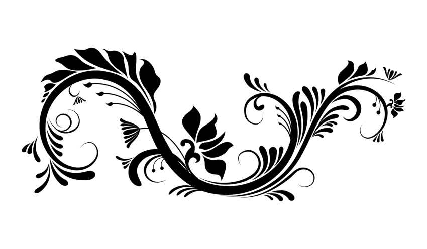 Graphic flower vector vector black and white download Graphic flower vector - ClipartFest vector black and white download