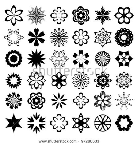 Graphic flowers free graphic royalty free stock Flower Clip Art Stock Images, Royalty-Free Images & Vectors ... graphic royalty free stock
