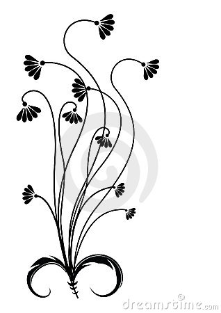 Graphic flowers free picture free Flower .Graphic Image On White Royalty Free Stock Images - Image ... picture free