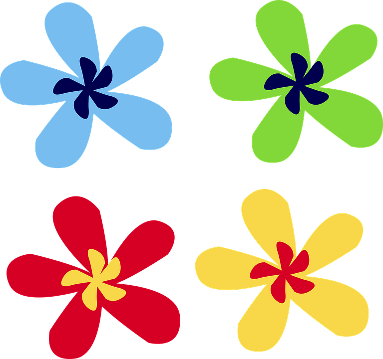 Graphic flowers free png transparent library Free vector graphic: Flowers, Spring, Plan, Nature - Free Image on ... png transparent library