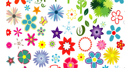 Graphic flowers free graphic freeuse A Collection of Free Adobe Illustrator Floral Vector Files   Naldz ... graphic freeuse