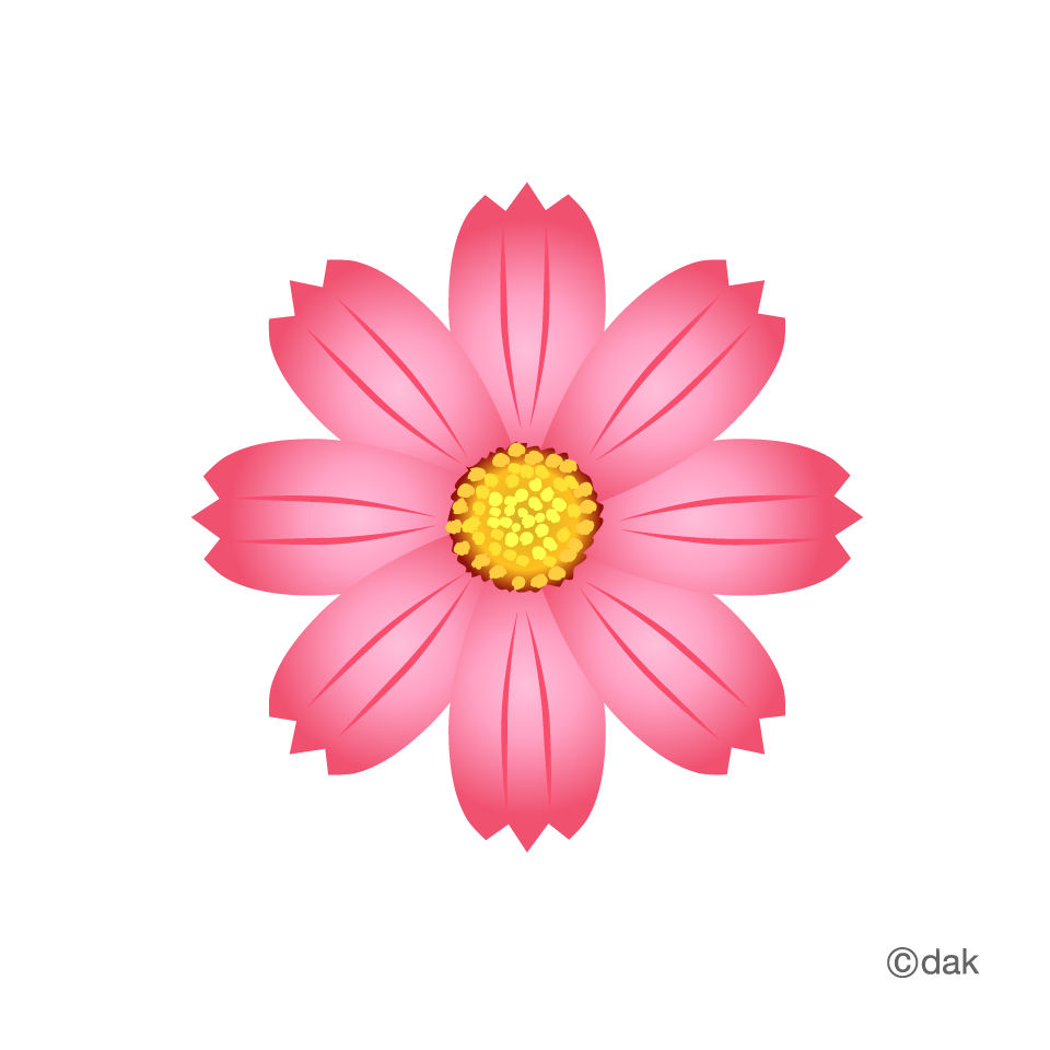 Flower icon clipart. Cosmos pictures of and