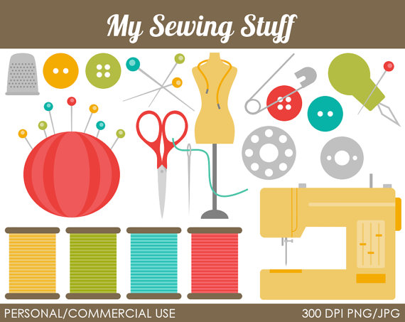 Graphic of tools clipart clip royalty free stock Sewing Tools Clip Art – Clipart Free Download clip royalty free stock