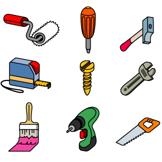 Graphic of tools clipart clipart royalty free library Free clipart for designer tools - ClipartFest clipart royalty free library