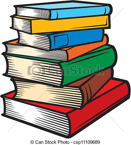 Graphics books png library Vector of Stack of books (books stacked) csp11109689 - Search Clip ... png library