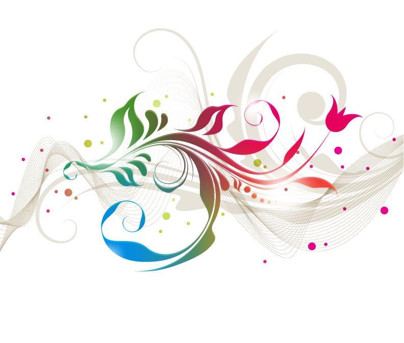 Graphics floral image transparent Colorful Floral Designs Vector Graphic | Free Vector Graphics ... image transparent