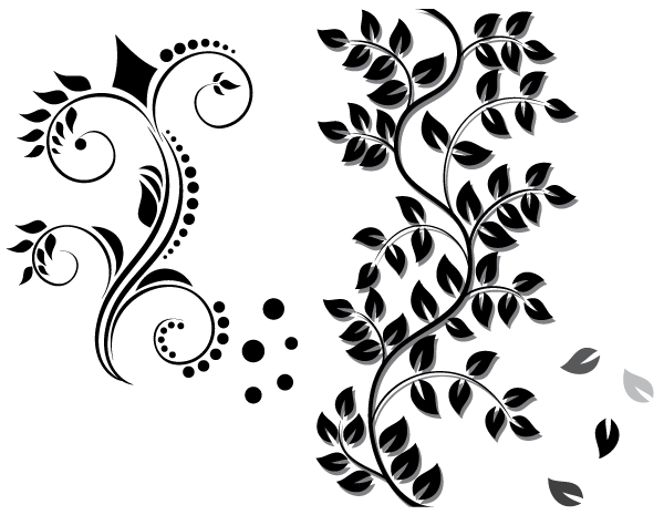 Graphics floral clipart stock Floral Ornament Vector Graphics Free | Download Free Vector Art ... clipart stock