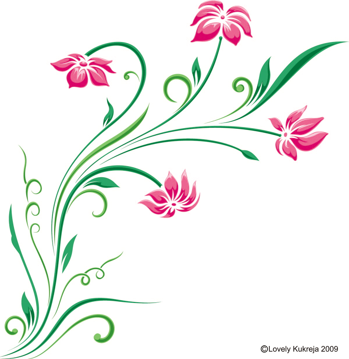 Graphics floral svg royalty free Graphic and web by Lovely Kukreja at Coroflot.com svg royalty free