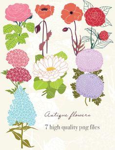 Graphics flower banner freeuse download Vintage flower graphics - ClipartFest banner freeuse download