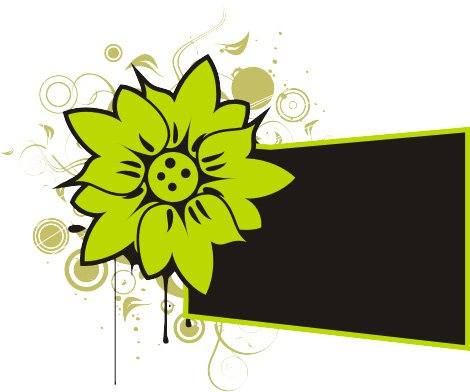 Graphics flower clipart black and white Vector graphics flower - ClipartFest clipart black and white
