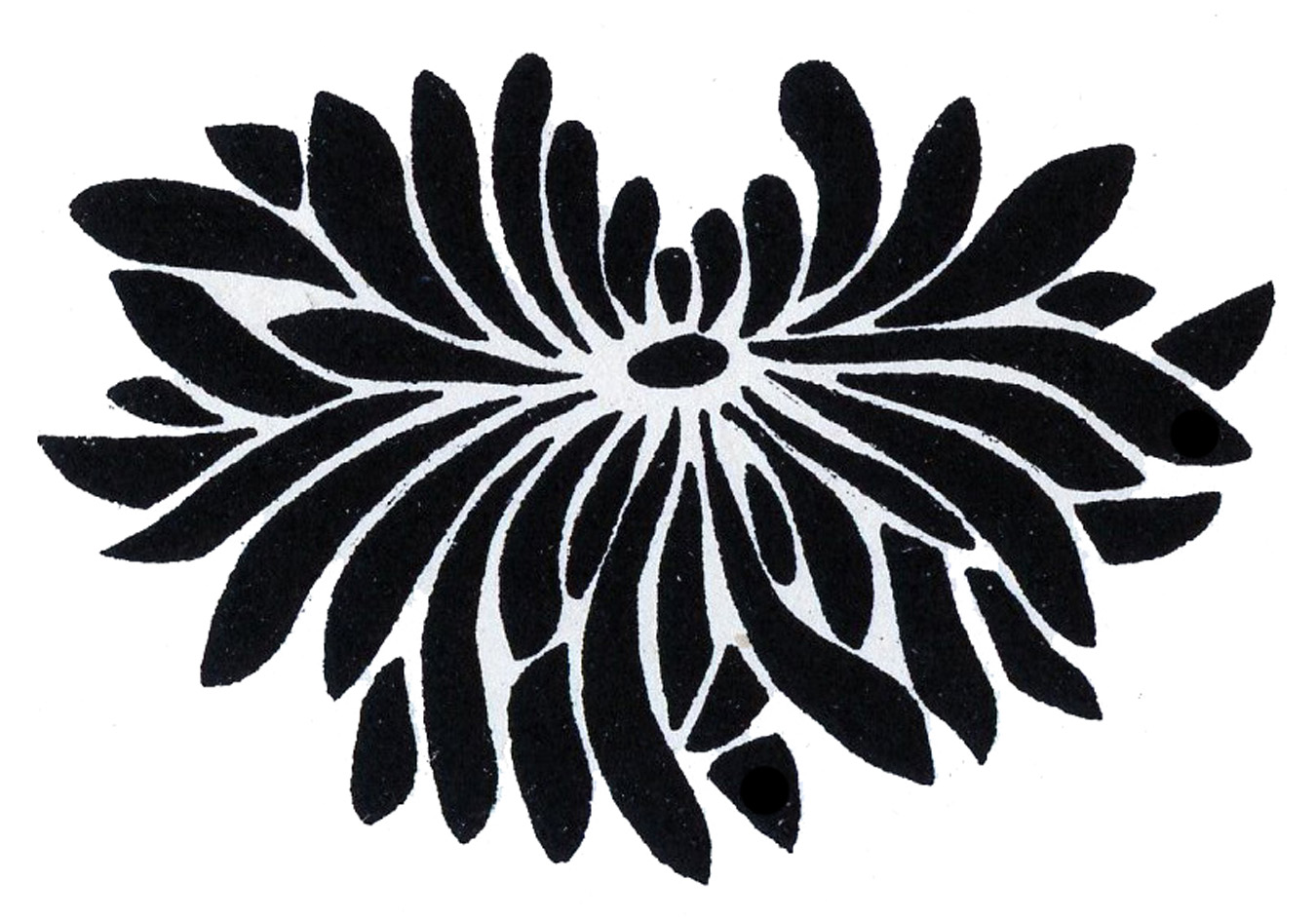 Graphics flower jpg black and white stock Flower Graphics - Beautiful Asian Designs - The Graphics Fairy jpg black and white stock