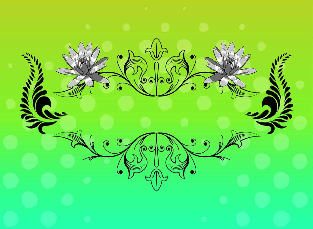Graphics flowers image black and white Flowers Graphics image black and white