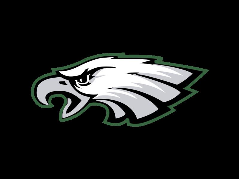 Graphics logo clipart jpg freeuse stock Philadelphia Eagles NFL Clip art Logo Vector graphics - philadelphia ... jpg freeuse stock