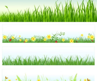 Grass and flowers clipart picture library library Clipart grass flower - ClipartFest picture library library