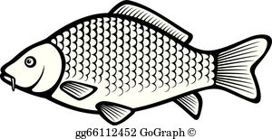 Grass carp clipart graphic royalty free library Carp Fish Clip Art - Royalty Free - GoGraph graphic royalty free library