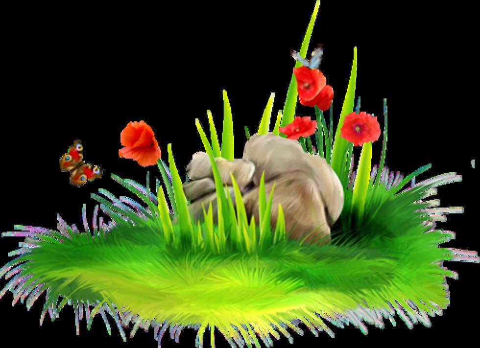 Grass flower clipart clipart royalty free download TUBES FLEURS - (page 4) - BIENVENUE CHEZ CAROLINEBLUE | Kvety ... clipart royalty free download
