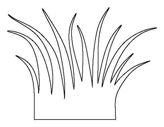 Grass outline clipart clip freeuse stock Grass outline clipart 2 » Clipart Portal clip freeuse stock