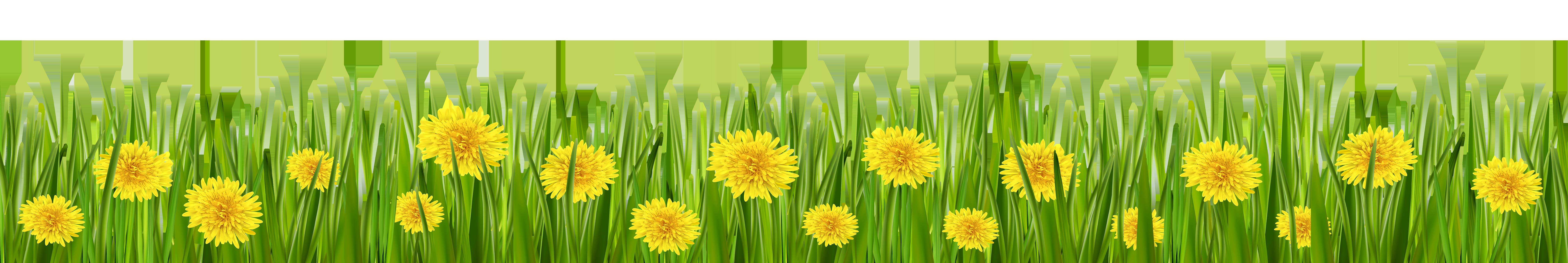 Sun dandilion birds clipart jpg freeuse library Grass and Dandelions PNG Clip Art - Best WEB Clipart jpg freeuse library