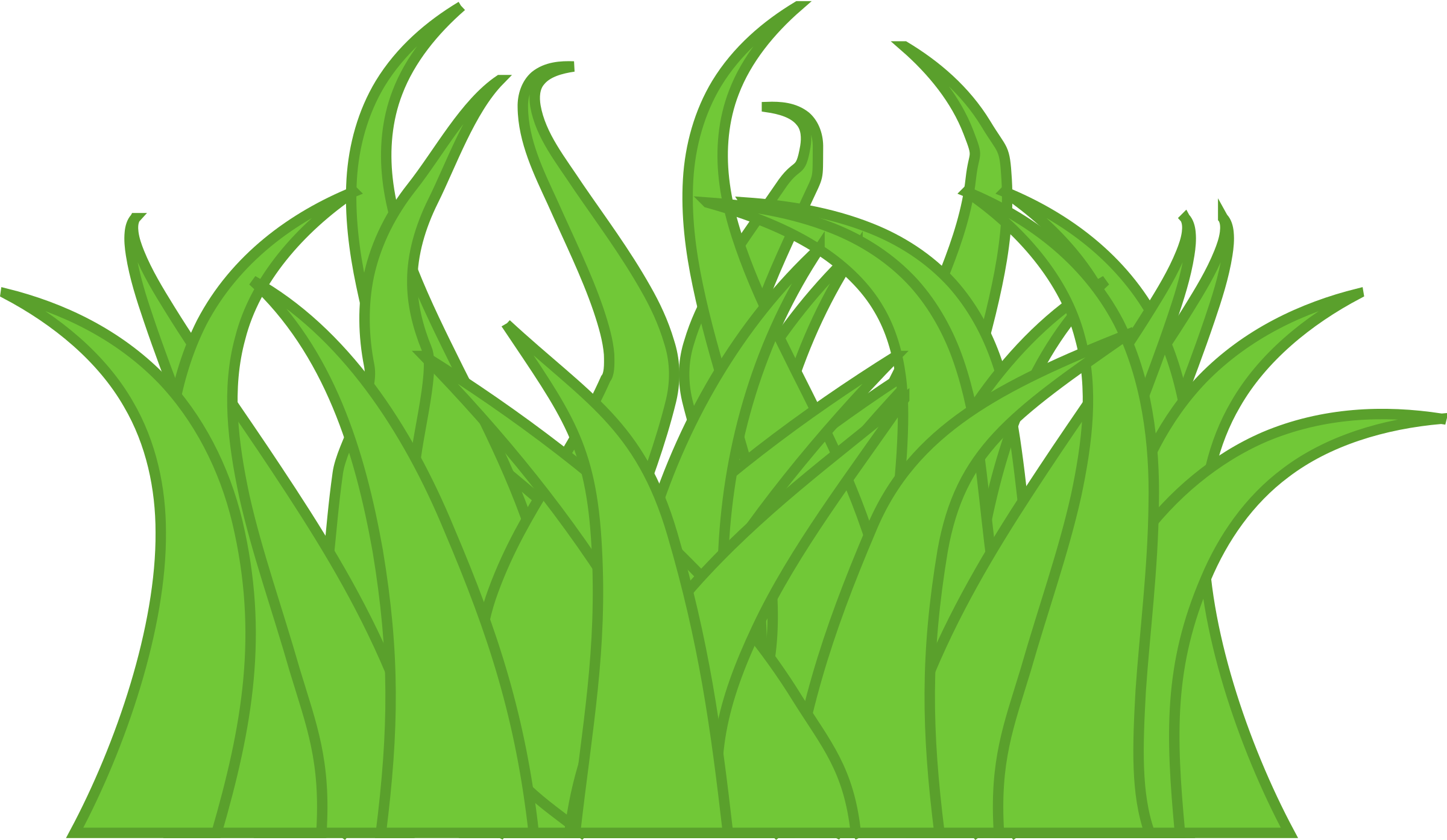 Grass vector clipart clip freeuse stock Grass Vector Clipart image - Free stock photo - Public Domain photo ... clip freeuse stock