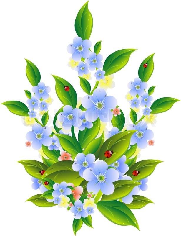 Gratis clipart blomster banner royalty free library Clipart blomster gratis 6 » Clipart Portal banner royalty free library