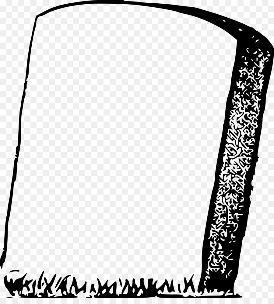 Gravestone black and white clipart banner free stock Headstone Black png download - 2202*2400 - Free Transparent ... banner free stock