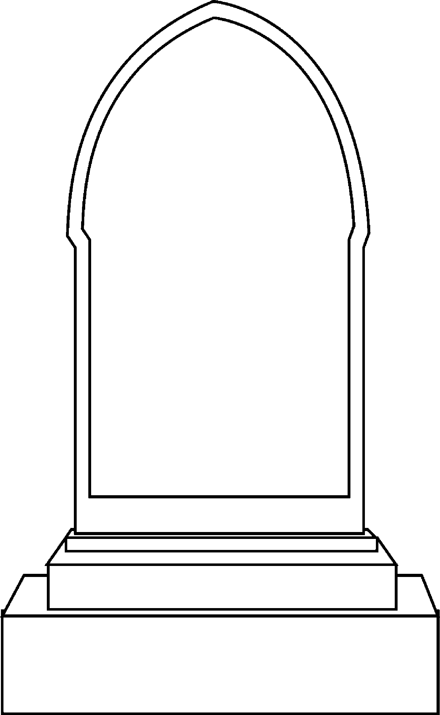 Gravestone black and white clipart graphic free stock Free Headstones Cliparts, Download Free Clip Art, Free Clip Art on ... graphic free stock