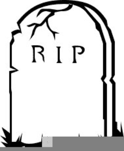 Gravestone clipart free picture black and white download Gravestones Clipart | Free Images at Clker.com - vector clip art ... picture black and white download