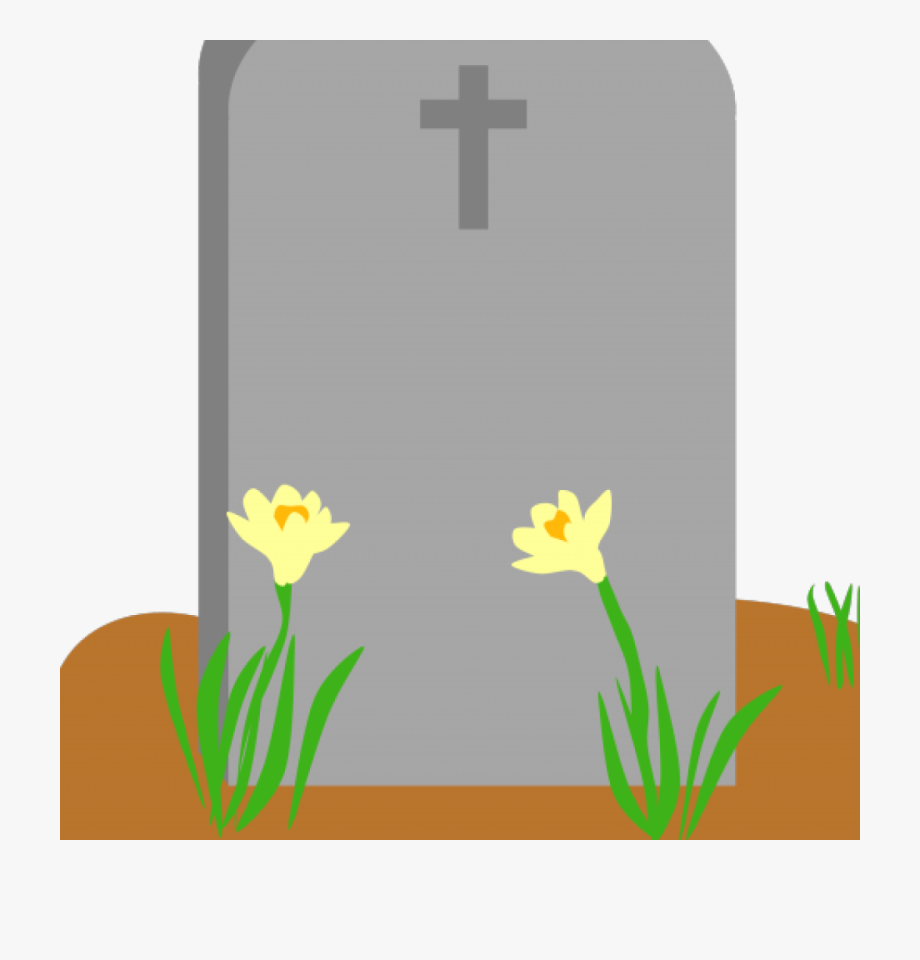 Gravestone clipart images banner free stock Tombstone Clipart Cross Top - Tombstone With Flowers Cliparts ... banner free stock