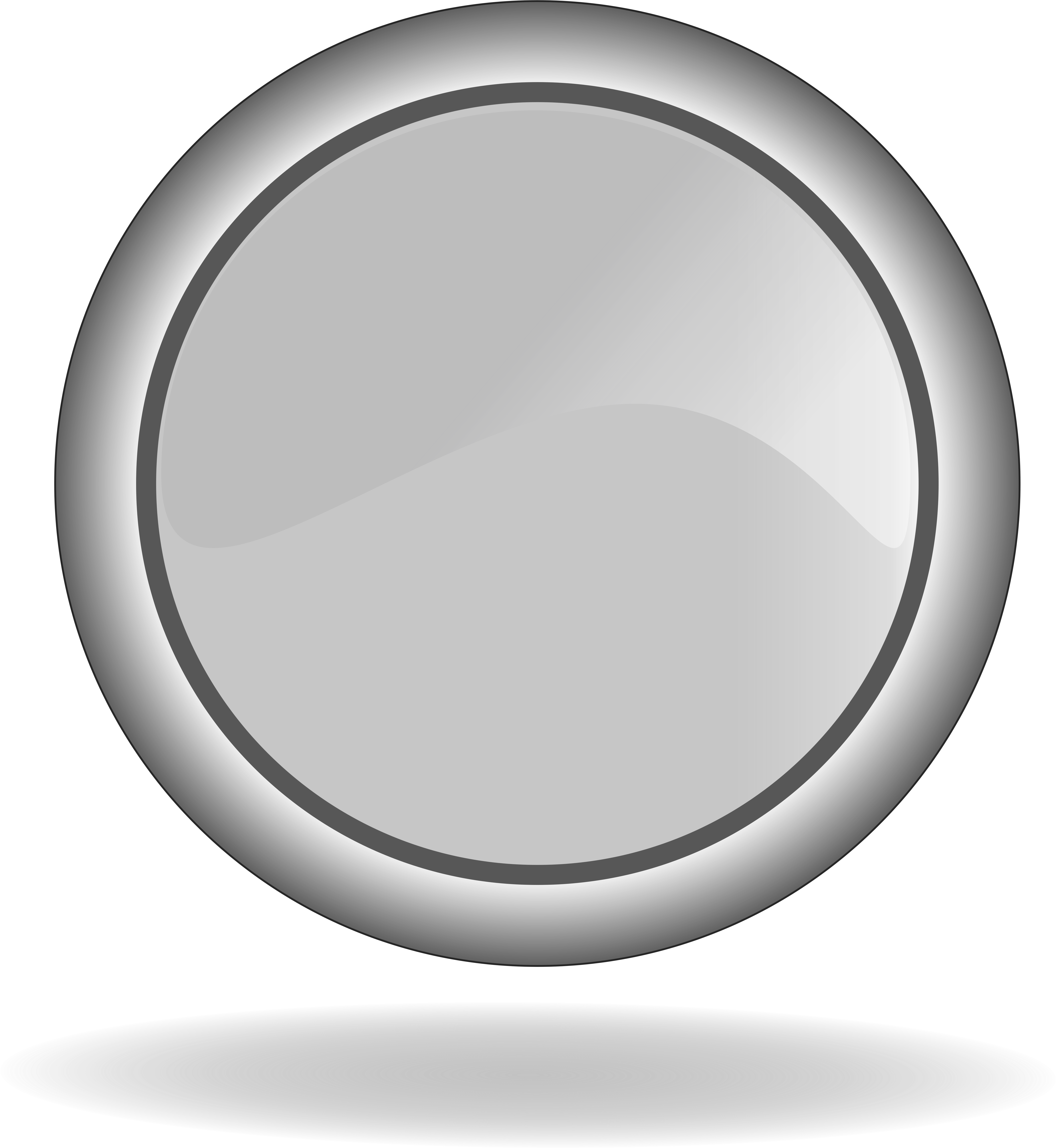 Gray button clipart picture Icon Of The Grey Button Clipart - Circle Button Gray Png ... picture