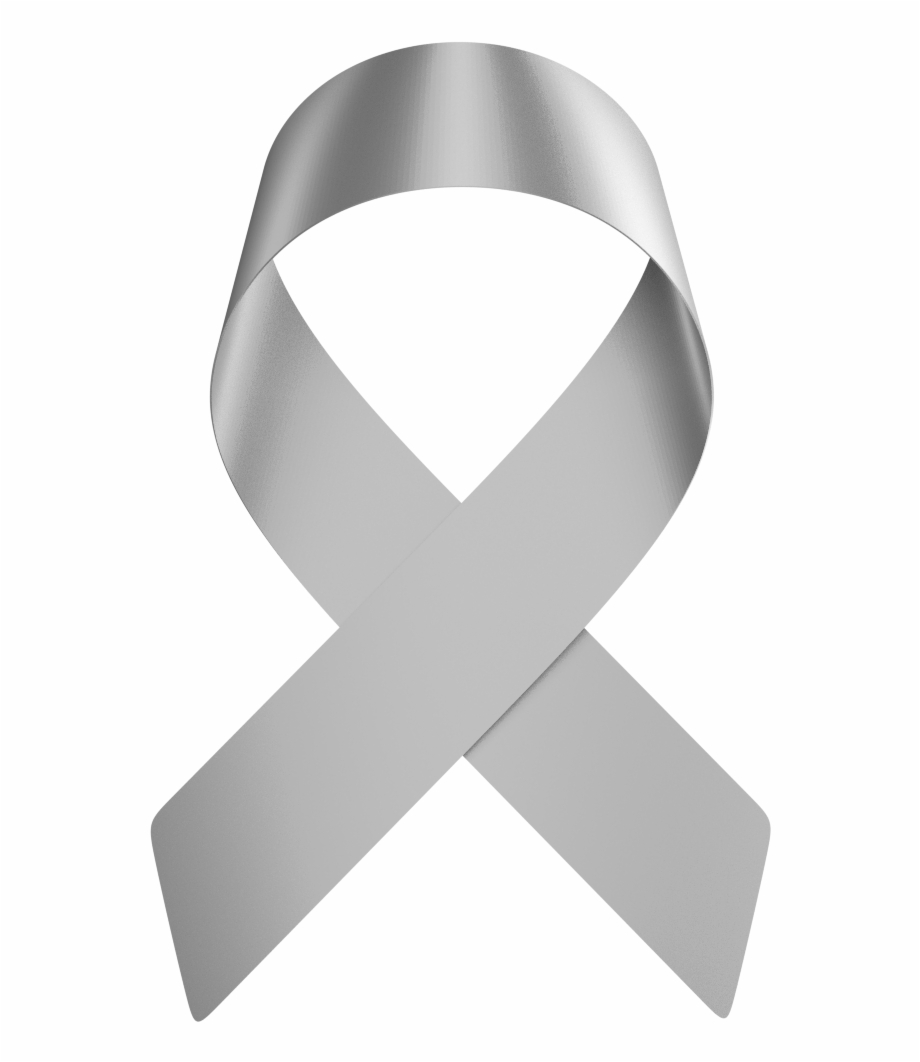 Gray cancer ribbon clipart banner free download Brain Cancer Ribbon Png - World Cancer Day 2019 Logo Png Free PNG ... banner free download