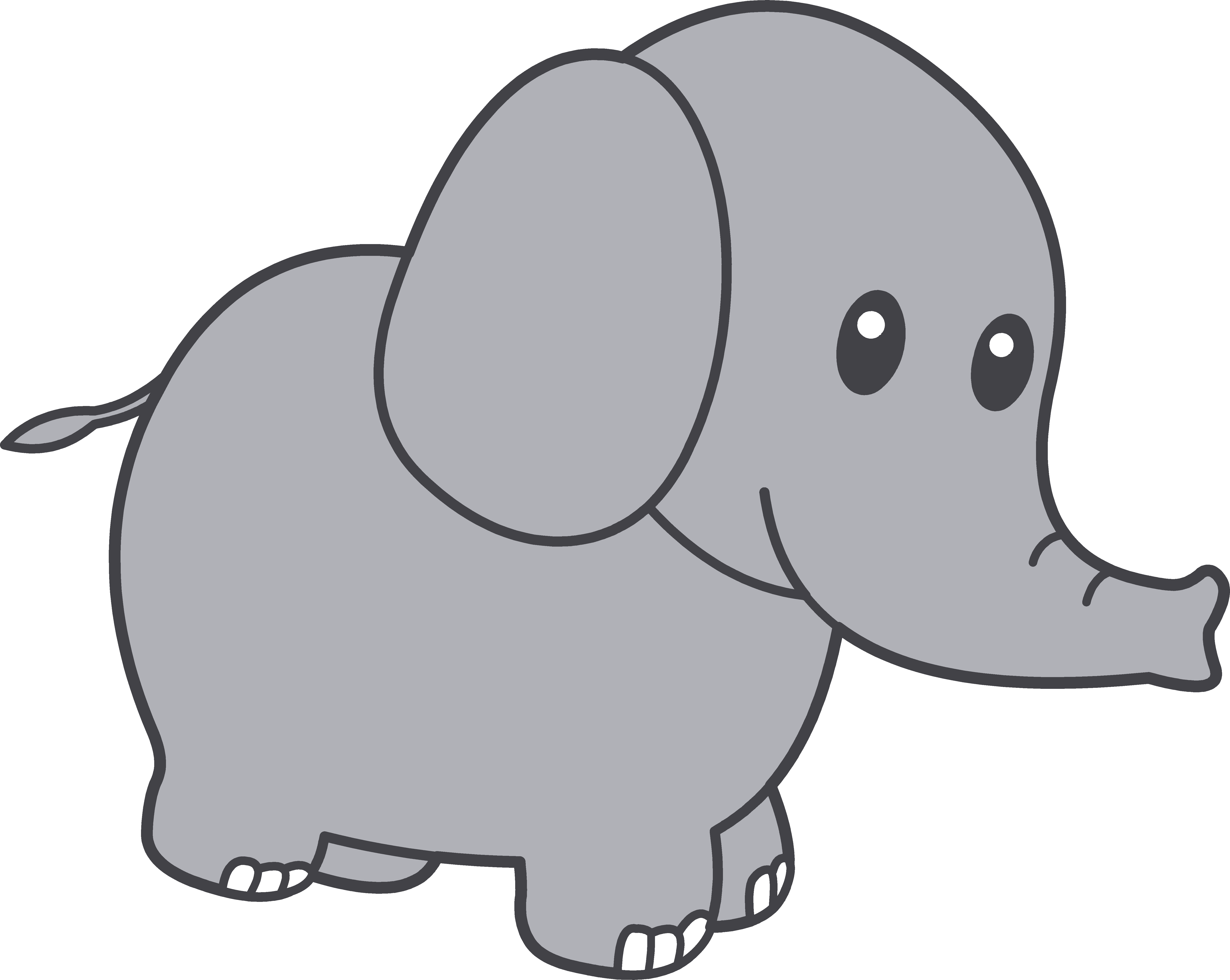 Gray elephant with hearts clipart transparent Gray elephant with hearts clipart - ClipartFest transparent