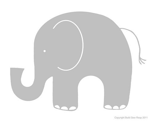 Gray elephant with hearts clipart clip art royalty free library elephant silhouette clip art | Gray Elephant clip art - vector ... clip art royalty free library