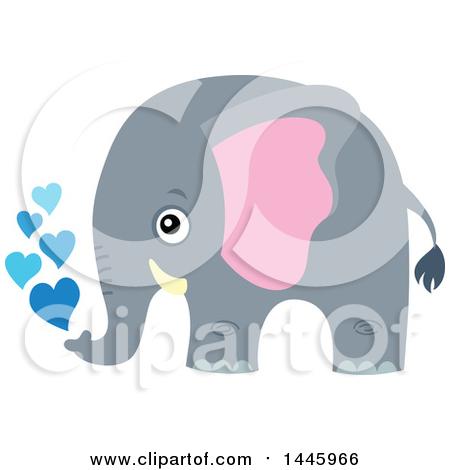 Gray elephant with hearts clipart clip art royalty free stock Royalty Free Elephant Illustrations by visekart Page 1 clip art royalty free stock