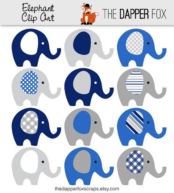 Gray elephant with hearts clipart image stock Navy Blue and Grey Elephant Clip Art - INSTANT DOWNLOAD - boy baby ... image stock