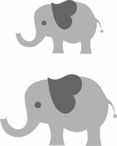 Gray elephant with hearts clipart vector I think I'm in love with this design from the Silhouette Design ... vector